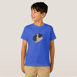 Pug head silhouette T-Shirt