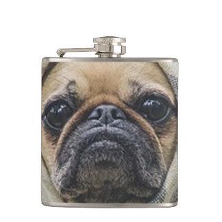 Pug Hip Flask