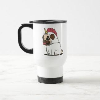 Pug-i-corn Travel Mug