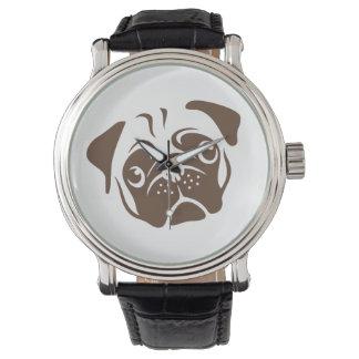 Pug Illustration Watch