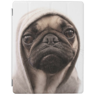 Pug In A Hoodie iPad Cover