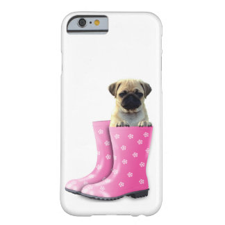Pug In Boots Barely There Phone Case