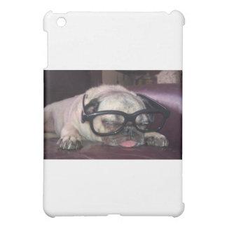 Pug In Glasses iPad Mini Cases