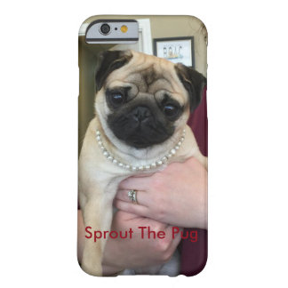 Pug In Pearls Barely There iPhone 6 Case