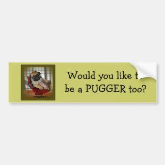 Pug it! bumper sticker