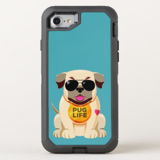 Pug Life custom color phone cases