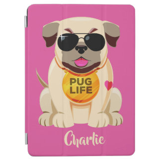Pug Life custom name & color device covers