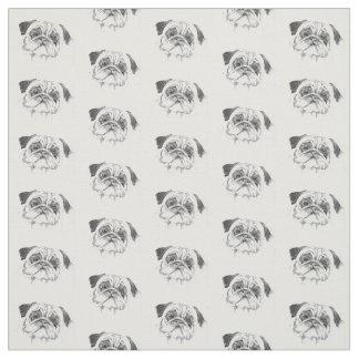 Pug Life Fabric