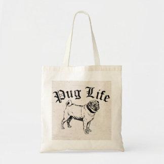 Pug Life Funny Dog Gangster Bags