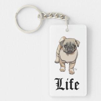 Pug Life - Funny Pun Keychain