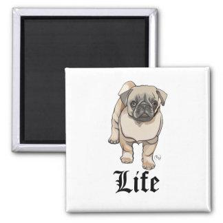 Pug Life - Funny Pun Magnet