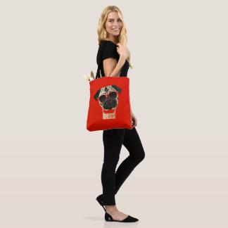 Pug Life - I am the Boss Tote Bag for Pug Parents
