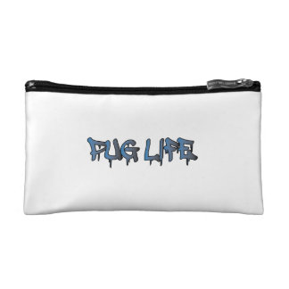 Pug Life Makeup Bag