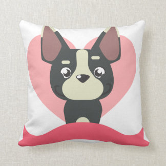 Pug Love Cushion