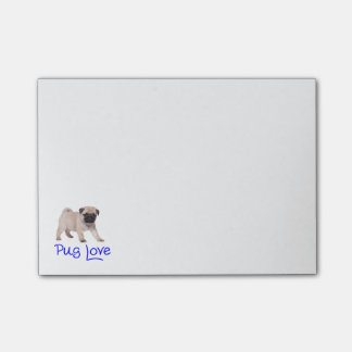 Pug Love Puppy Dog Post IT Sticky Notes