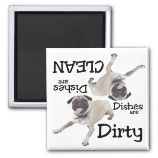 Pug Lovers Dishwasher Magnet