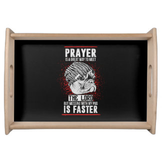 Pug Lovers Serving Tray