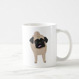 Pug Mug Front and Butt