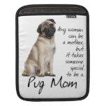 Pug Mum iPad Sleeve