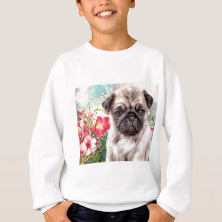 Pug Painting Sweatshirt