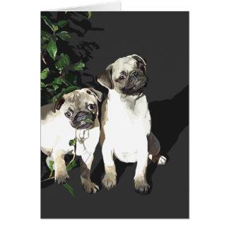 Pug Pals Card