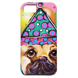 Pug Party Dog iPhone 5 Case