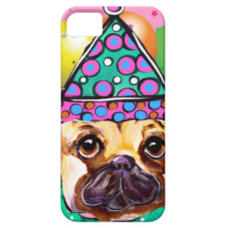 Pug Party Dog iPhone 5 Cases