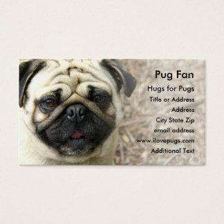 Pug Photo Business Card