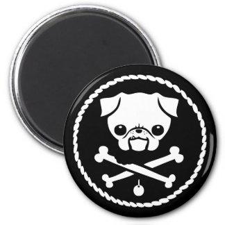 Pug Pirate Magnet
