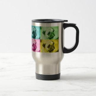 "Pug ""pop kind"" thermal cup"