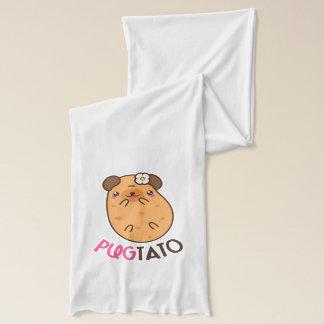 Pug Potato Pugtato Scarf