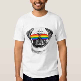 Pug Pride Sunglasses Tshirt