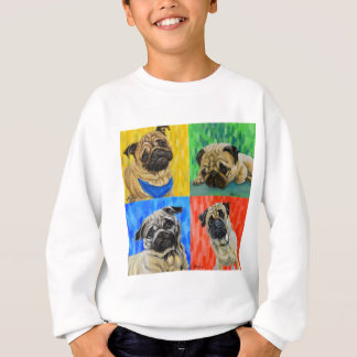 Pug Primary Sweatshirt