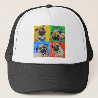 Pug Primary Trucker Hat