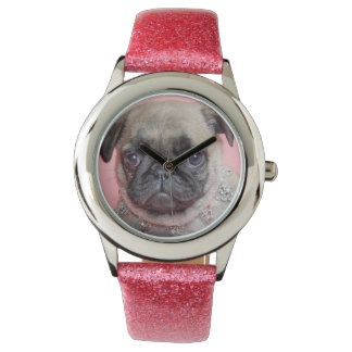 Pug Princess Wrist Watch