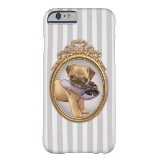 Pug Puppy and Shoe Barely There iPhone 6 Case