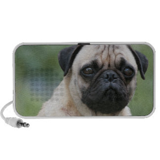 Pug Puppy Dog Portable Speakers