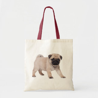 Pug Puppy DogCanvas Tote Bag
