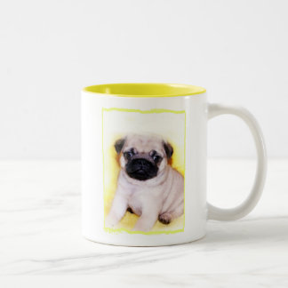 Pug puppy mug