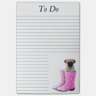 Pug Puppy Post-it® Notes