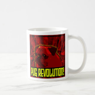Pug Revolution Coffee mug