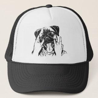 Pug Rocks Trucker Hat