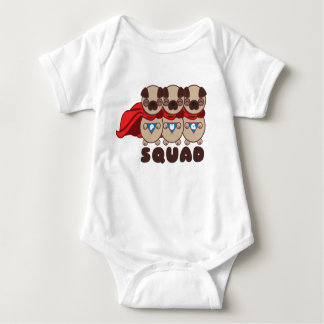 Pug Squad Pugs To The Rescue Infant Tee Bodysuit