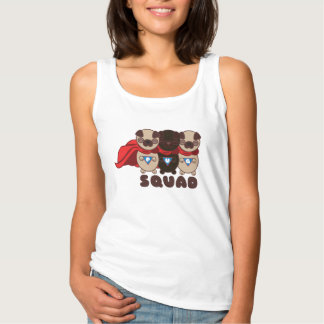 Pug Squad Pugs To The Rescue Woman's Tank Top