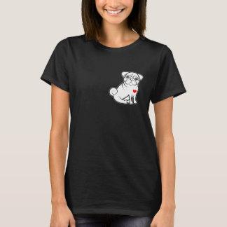 Pug T-Shirt - Ladies Pug Shirt