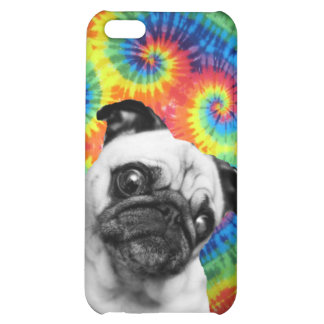 Pug Tie Dye Case For iPhone 5C