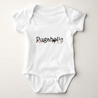 Pugaholic Baby Bodysuit