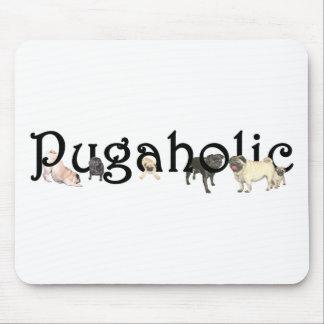 Pugaholic Mouse Pad