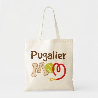 Pugalier Dog Breed Mom Gift Tote Bag