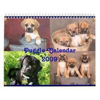 Puggle Calendar
